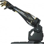 Working Darth Vader robotic arm