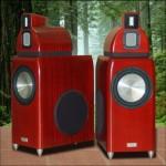 Salk Sound HT4 giant bamboo speakers