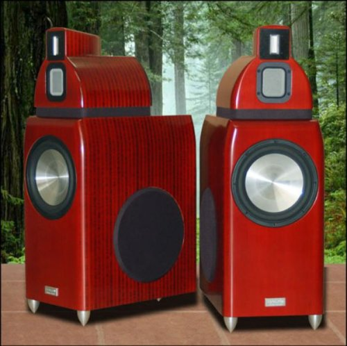 Salk Sound HT4 giant bamboo speakers