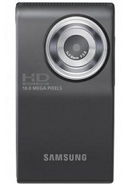 Samsung HMX-U10 point-and-shoot 10MP camcorder