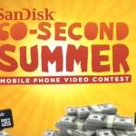 SanDisk announces summer video contest