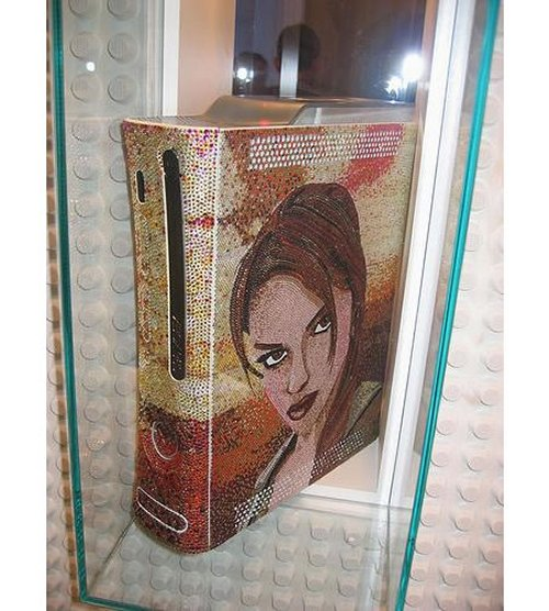 Xbox 360 Lara Croft case