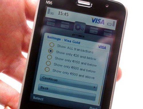 VISA testing instant transaction confirmation alerts