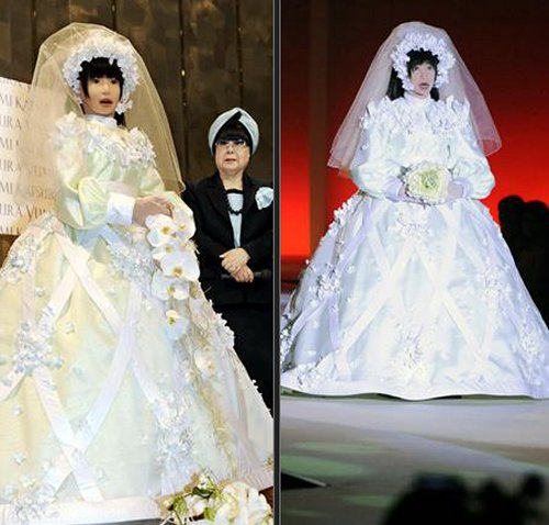 Here comes the robotic bride