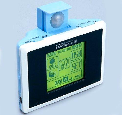 ZZZ Checker monitors your sleeping behavior