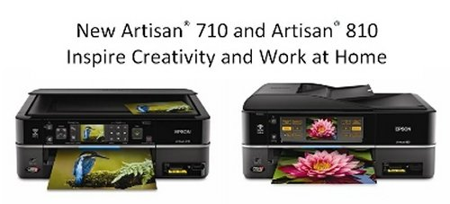 Epson intros two Artisan all-in-one printers