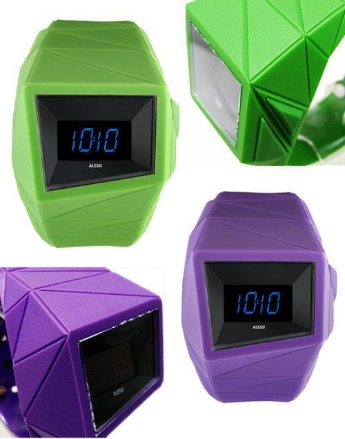 Alessi Daytimer OLED watch