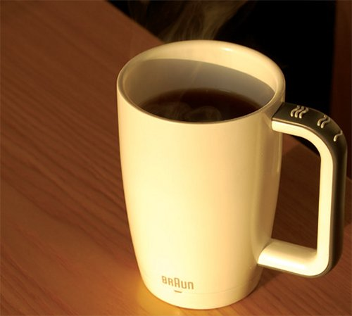 Mug for the blind prevents spills