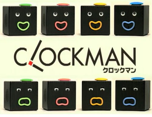 Takara Tomy Clockman will wake you up