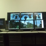 HP USB Graphics Adapter  picture across multiple monitors