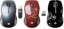 HP Wireless Comfort Mouse gets style