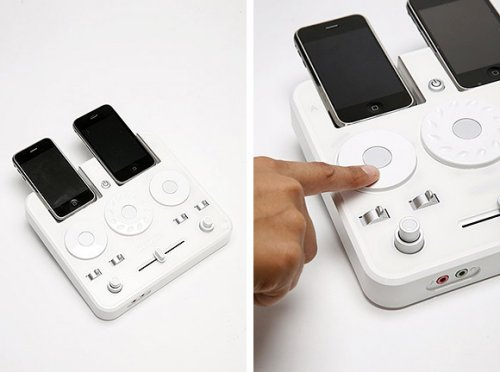 iPhone DJ Mixer