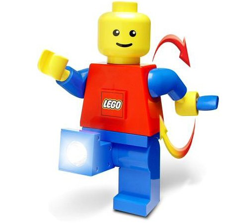 LEGO Minifig Dynamo Flashlight