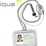 IQUA smart badge Bluetooth headset