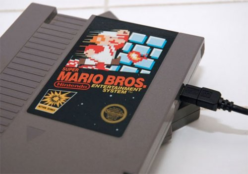 External hard drives in NES cartridges