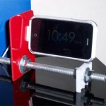 Nuts and Bolts iPhone stand