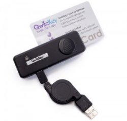 QwicKey USB Credit Card Swiper