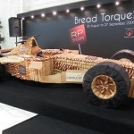 Asias largest race car made from bread