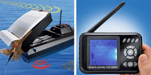 RC Feed Boat