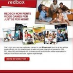 Redbox debuts $2 video game rentals