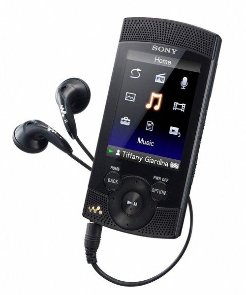 Sony releases S540 Walkman
