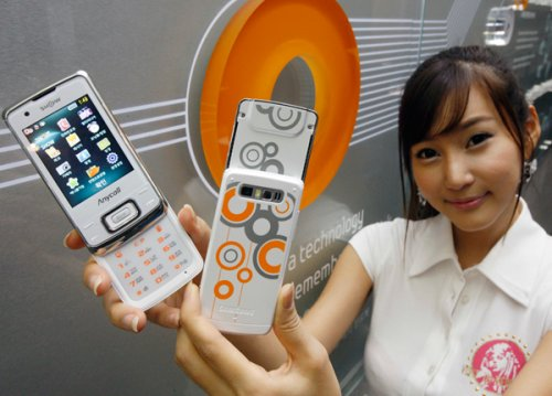 Samsung Honey Bubble 3G Phone