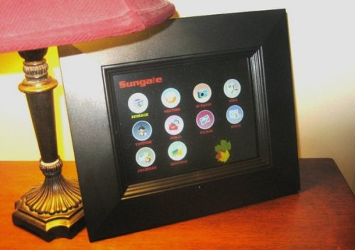 Sungale 8-inch WiFi Digital Photo Frame Review - SlipperyBrick.com