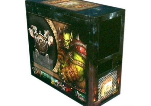 Orcish World Of Warcraft PC case