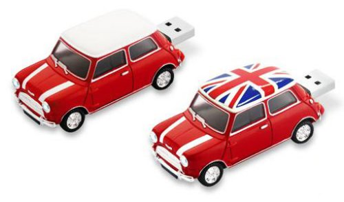 Mini Cooper 4GB flash drive