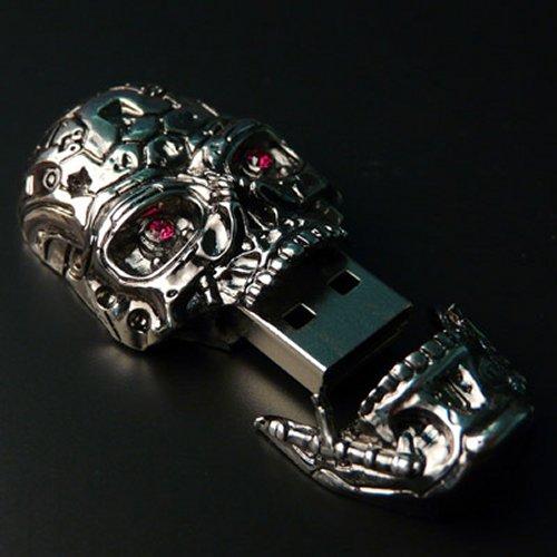 Terminator 4 T-600 USB skull drive