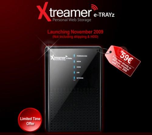 Xtreamer e-TRAYz NAS