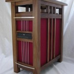 Jeffrey Stephenson's retro side table/computer system