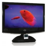 Sharper Image releases 19″ and 22″ LCD TVs with iPod Dock and DVD Player