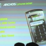 Archos Android Phone Tablet on video