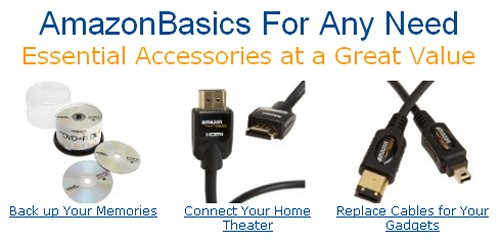 Amazon gets into Private Label Consumer Electronics with AmazonBasics