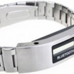 Vibrating Bluetooth Bracelet Watch
