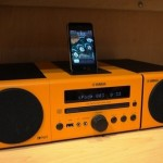 Yamaha's MCR-140 Wireless iPod Dock looks retro and awesome