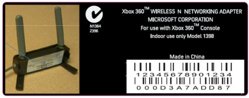 Microsoft confirms 802.11n Xbox 360 adapter