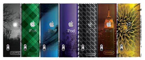 Griffin iClear Sketch and iClear Shade iPod Nano cases