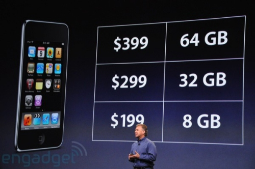 Apple iPod Touch price drop