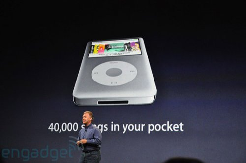 Apple keeps iPod Classic alive, 160GB for the same price