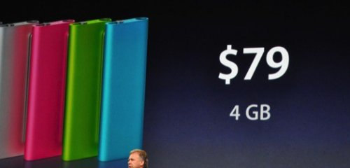 iPod Shuffles get new colors and features