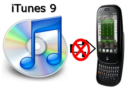 iTunes 9 kills access for Palm Pre Sync