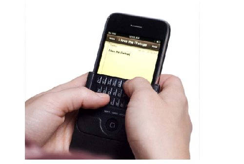 iTwinge iPhone Keyboard