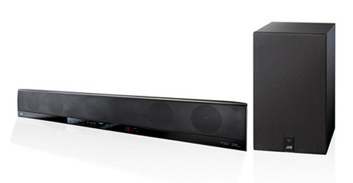 JVC TH-BA1 and TH-SB100 4.1 channel soundbar speakers
