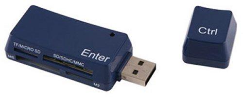 Keyboard Keys USB card reader