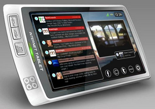 Lighthouse SQ7 portable social media tablet