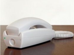 Motion Detecting Telephone