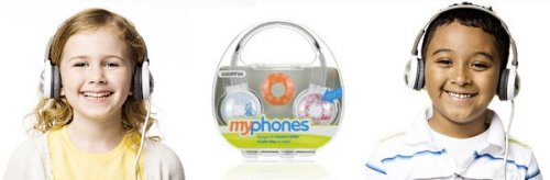 Griffin thinks of the children, intros kid-friendly MyPhones headphones