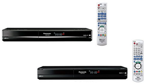 Panasonic rolls out new DVD and HDD Recorders